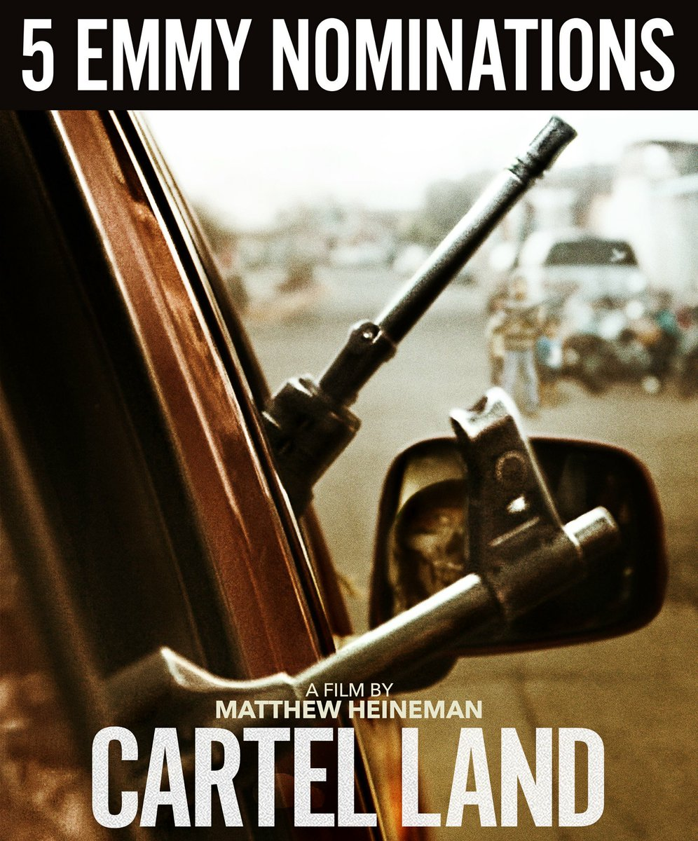 Tune in TOMORROW at 9pm EST for a special screening of the Emmy nominated documentary #CartelLand on @AETV!