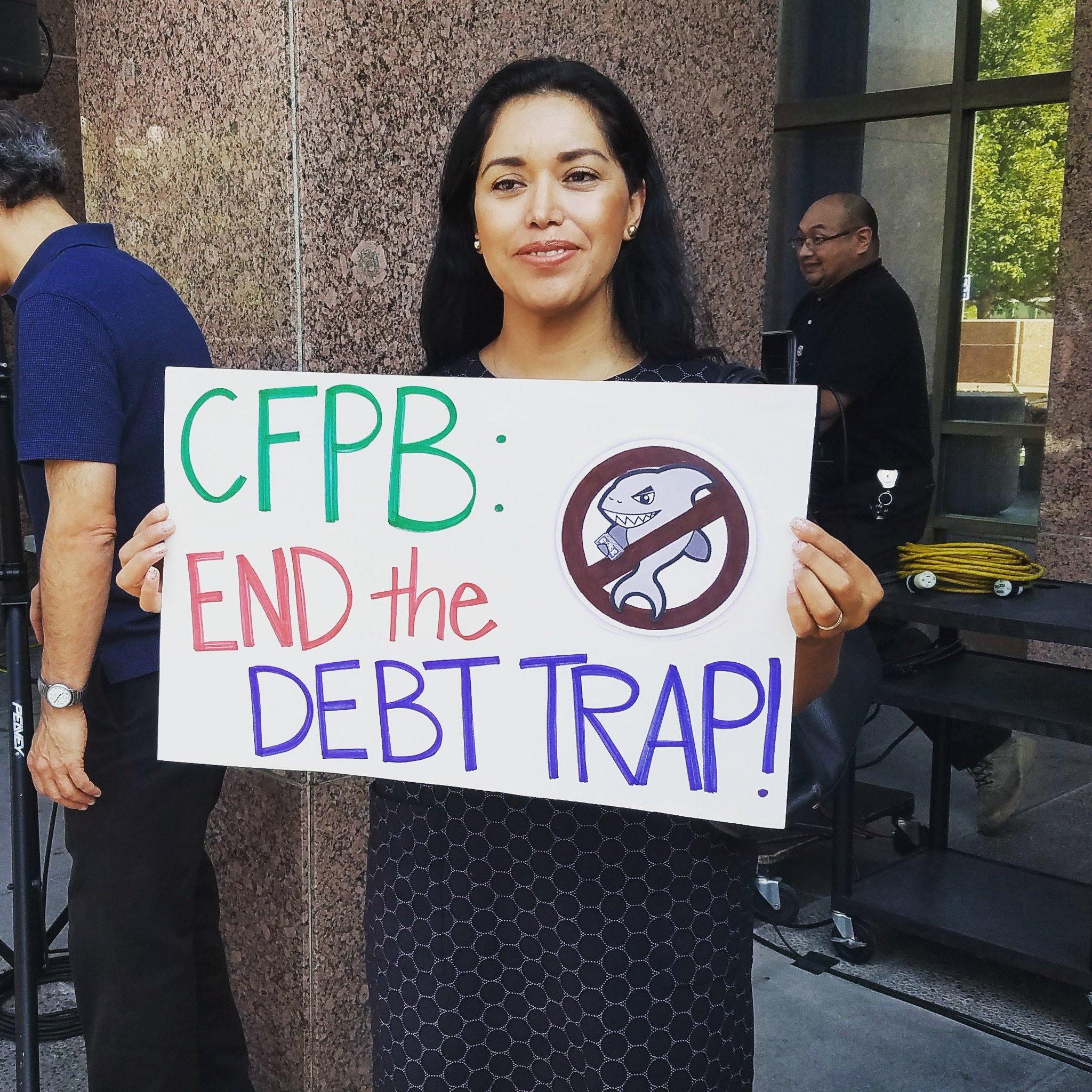 #stopthedebttrap @CalReinvest https://t.co/YKeYx9CWa5