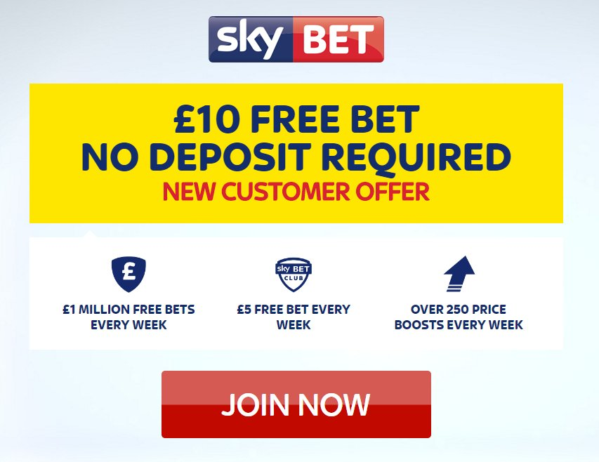 Skybet No Deposit Bonus