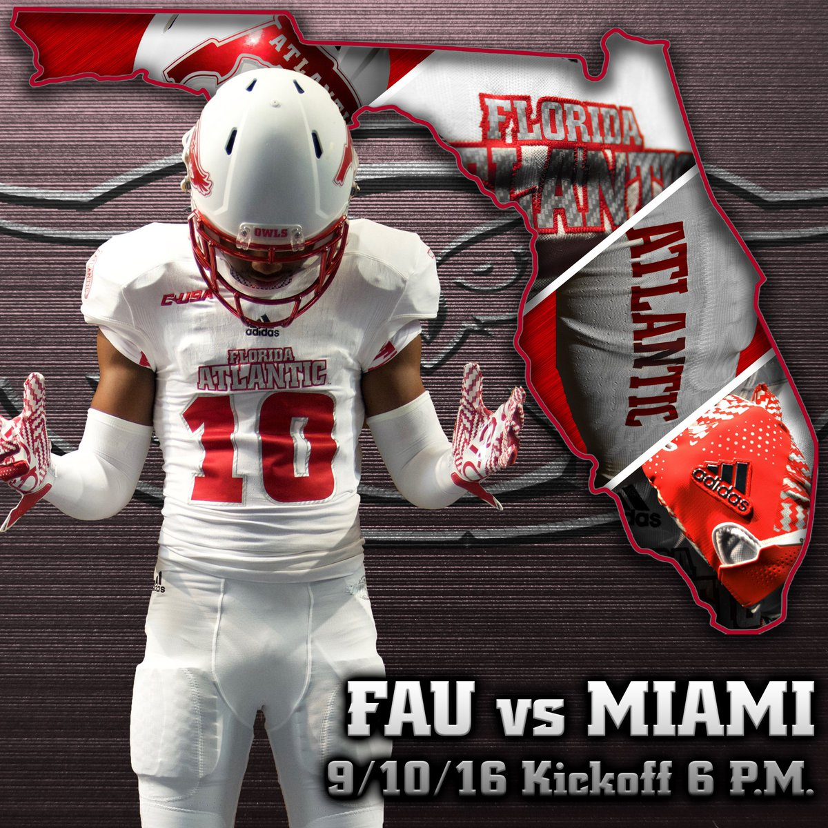 Fau Football On Twitter Our Next Mission Is Here New Uniforms