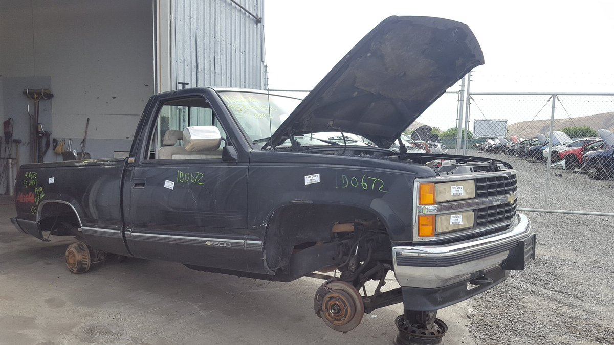 "U-Pull-It Auto Parts on Twitter: ""1993 Chevrolet 1500 Pick Up 5.7L Manual  Transmission #GreatDeals #ForParts #UPullItYakima… """