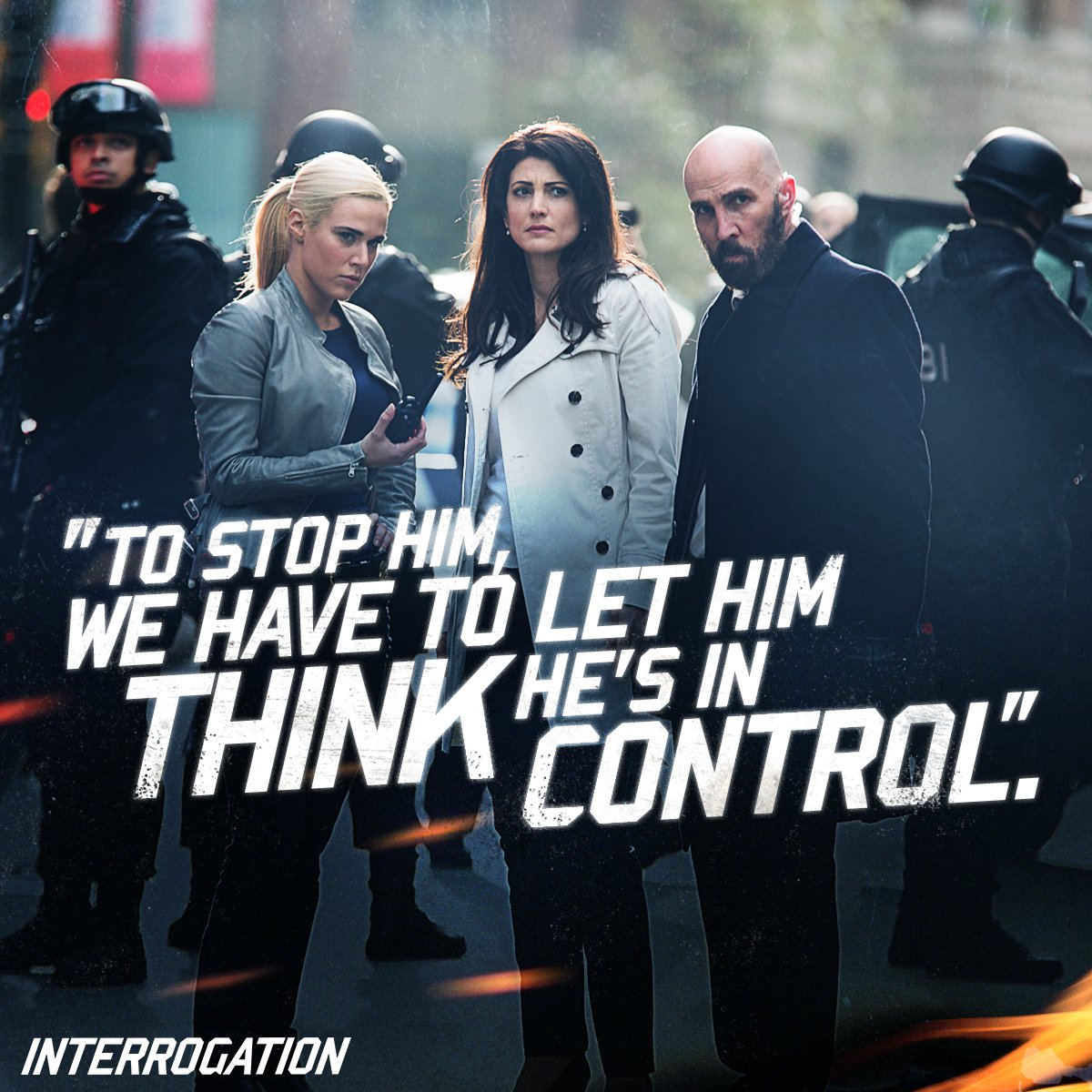 It's a game of wits in #Interrogation. Available on Blu-ray & DVD. https://t.co/7t7N8mNUbP https://t.co/1BMU7fqLNv