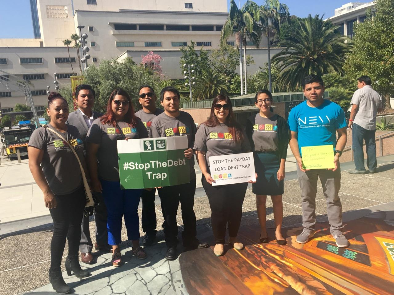 So excited to be part of this movement! @elaccOrg #StopTheDebtTrap @CalReinvest @CFPB https://t.co/5xtGSe1GwX