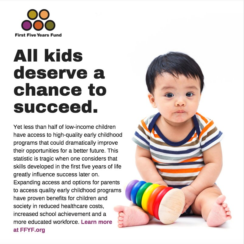 Like & RT if you agree! Quality early childhood education provides the foundation for success in school & life. https://t.co/VtBOP1T5cb