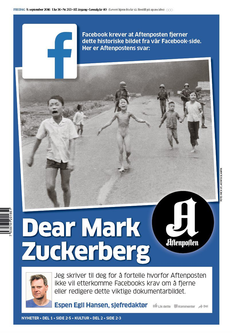 Dear Mark Zuckerberg https://t.co/Rs16O7JEFy #aftenposten https://t.co/ys8gZTY7Hc