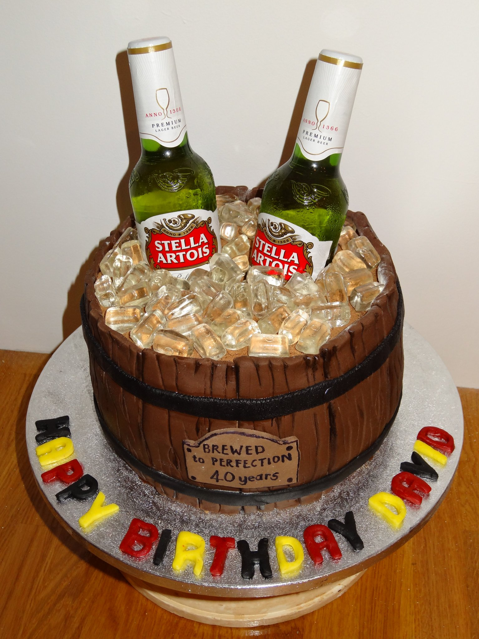 всех работ торт для мужчин с пива фото называется
