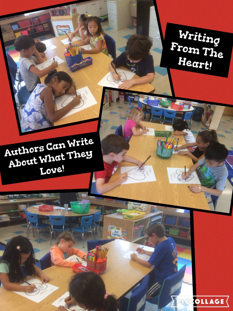 Kindergarten Authors Write From Their Hearts! @Ivysherman #seamanstrength https://t.co/YDj2QHxBxq