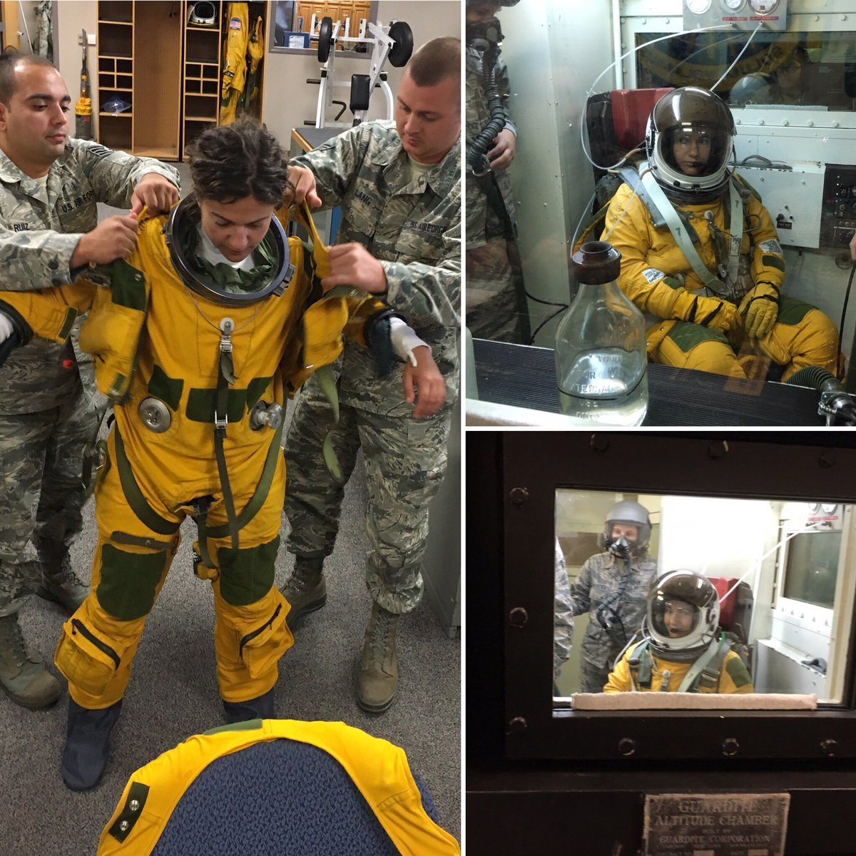 "Jessica Meir on Twitter: ""Pressure suit high altitude ..."