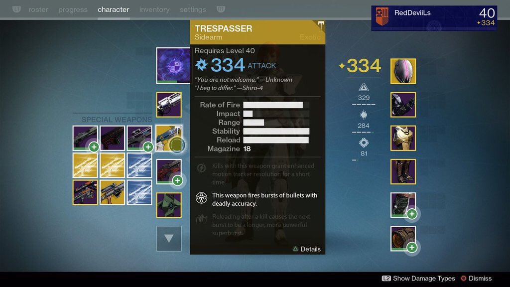 Bungie on twitter quot trespasser dropping early yup trespasser is
