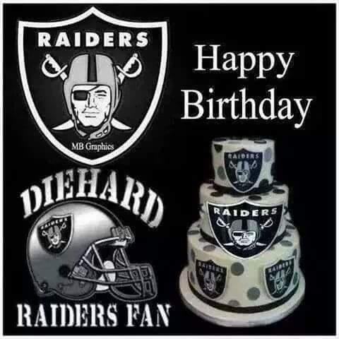 happy birthday raiders Oakland Raiders on Twitter: