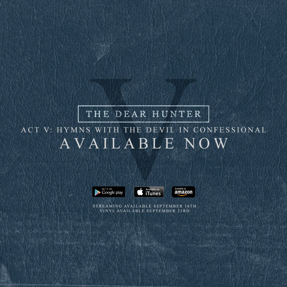 Our new album #ActV is officially out now! We hope you enjoy. https://t.co/2WGcjzJaR4 https://t.co/P8kEq49ClA