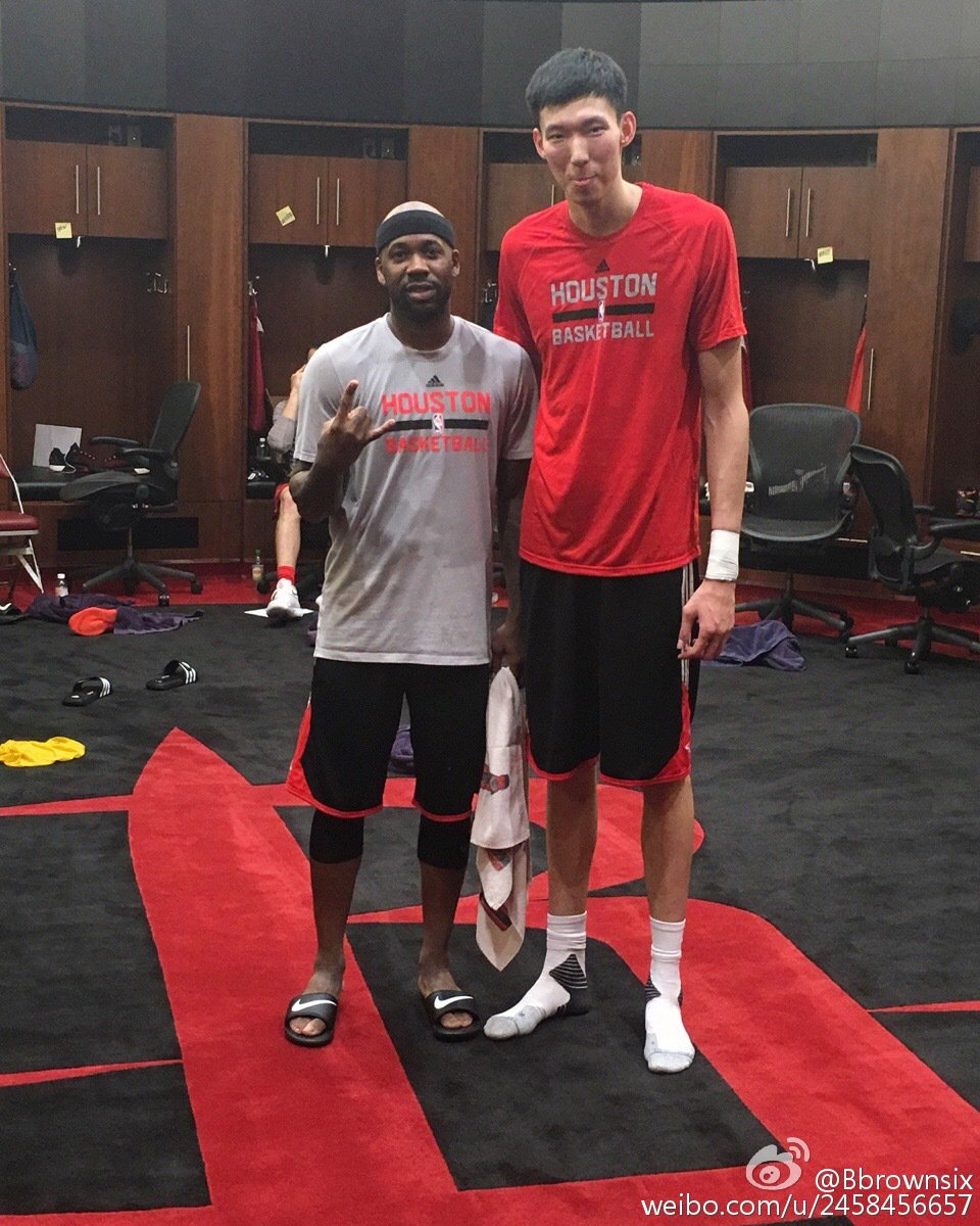 "Rockets Zhou Qi Injury: Bobby Brown On Twitter: ""RT @geraldyu14: Bobby Brown"