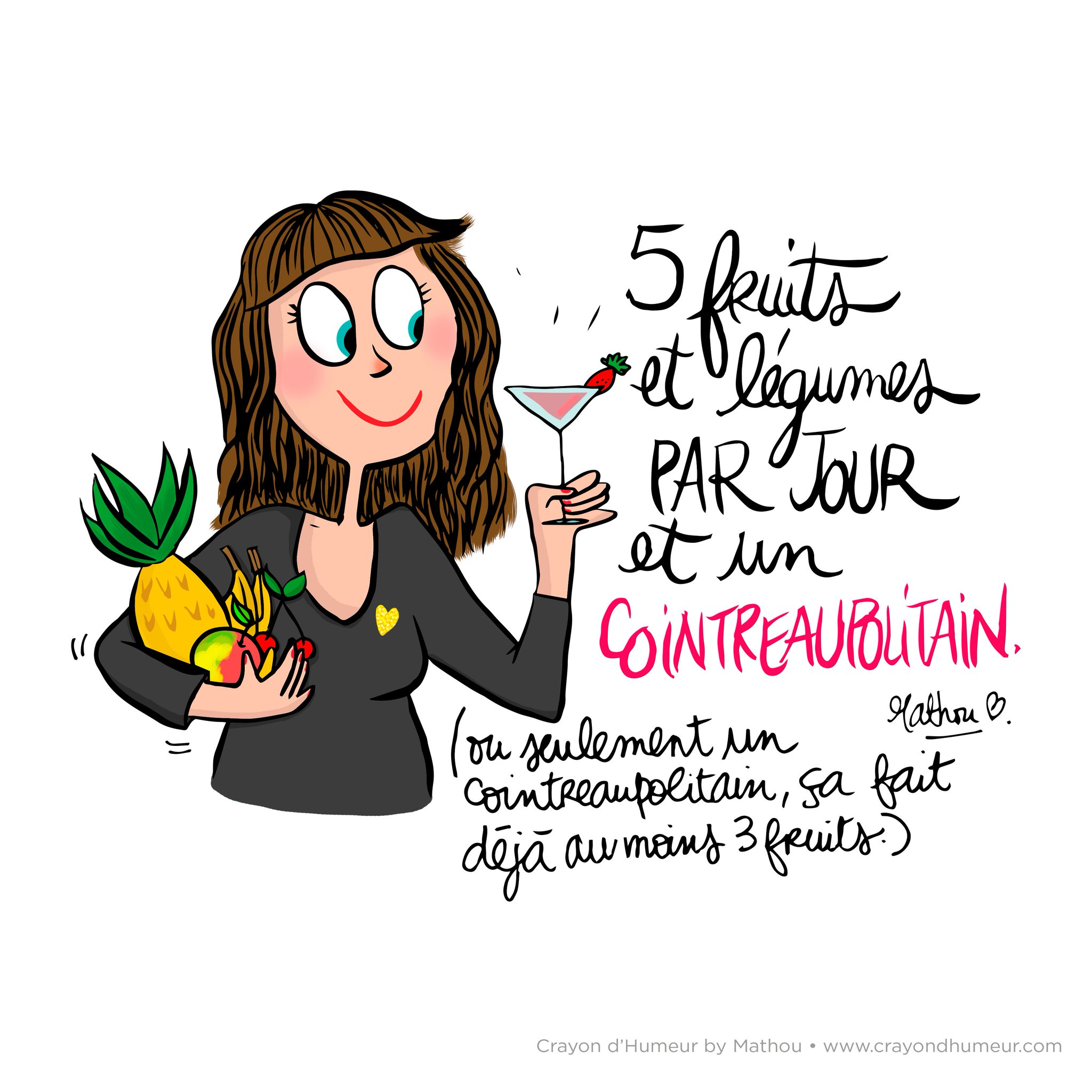 Mathou virfollet on twitter cocktail mathou crayondhumeur illustration dessin - Dessin cocktail ...