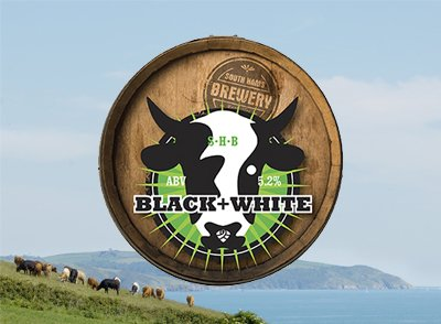 Image result for south hams brewery black and white