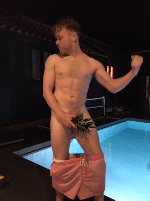 Olly Murs Naked Pineapple