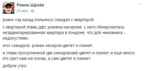 """Лещенко должен сложить мандат, если настроен отстаивать свою репутацию, - глава фракции """"Самопомич"""" - Цензор.НЕТ 1860"""