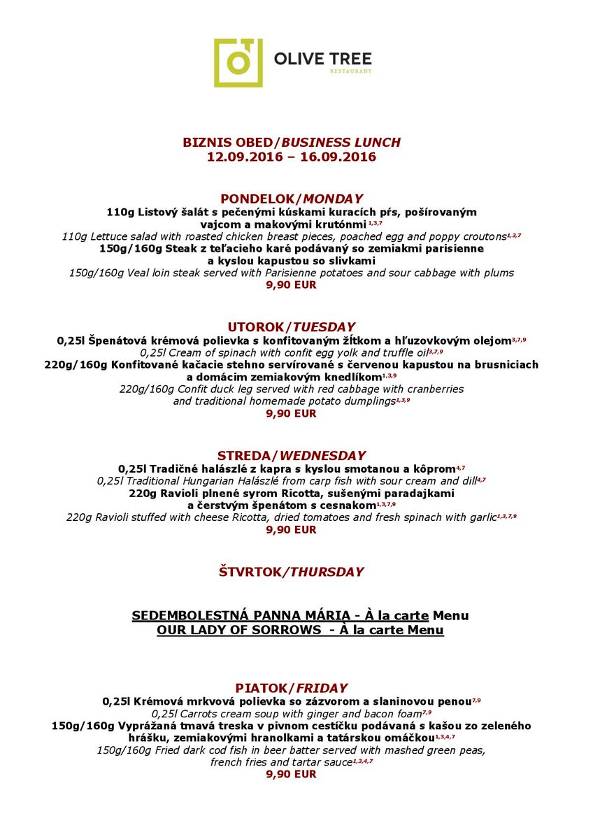 Delicious next week?:-D #BUSINESS#LUNCH#IN#OLIVETREE https://t.co/dTpOToQOM0