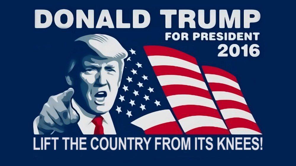 Трамп уже придумал новый лозунг для своей президентской кампании в 2020 году - Цензор.НЕТ 7406