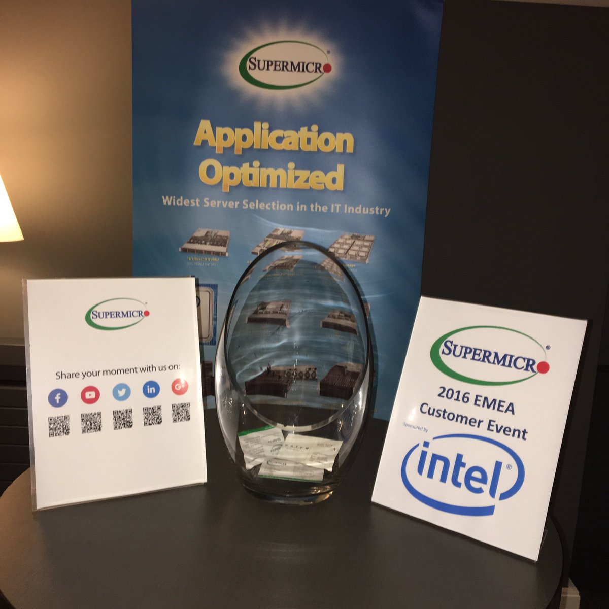supermicro on twitter dont forget leave your business card for a chance to win the raffle emeasm16