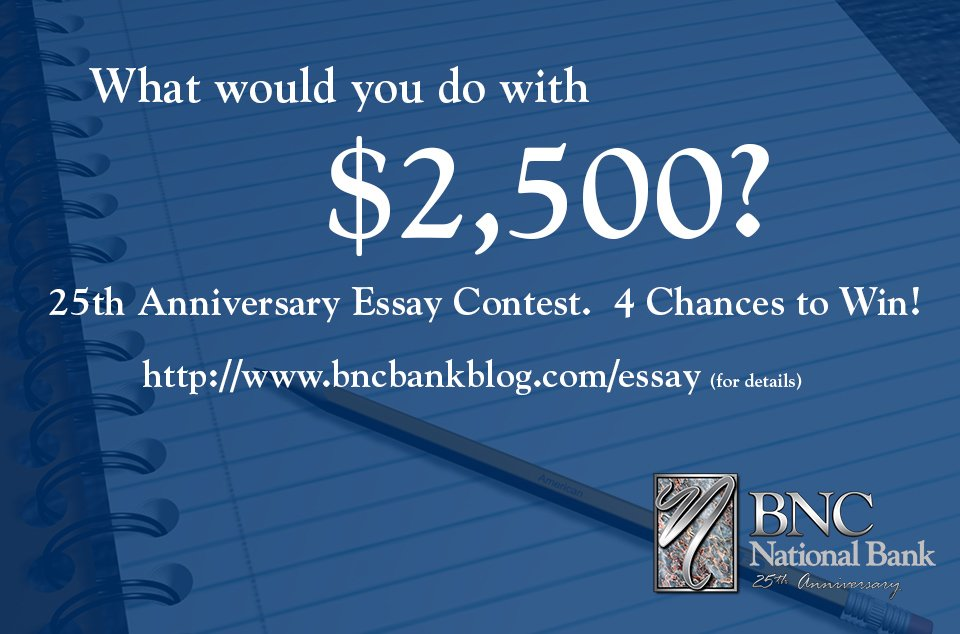 Would you submit an essay?