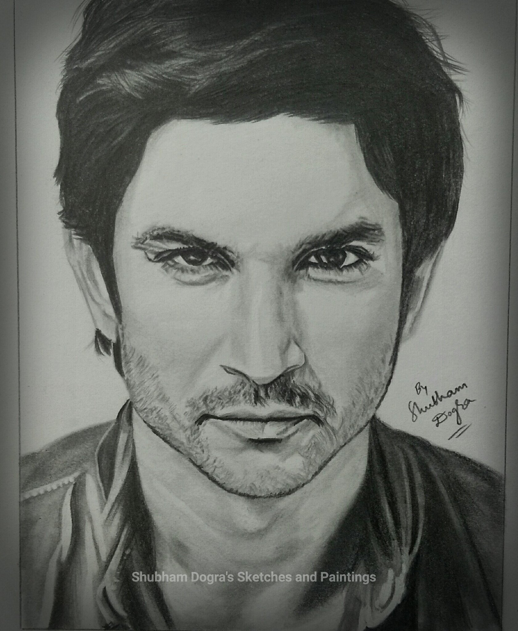 MSDian Shubham Dogra On Twitter U0026quot;@itsSSR Your Pencil Sketch Drawn By Me Today.. I Hope You Love ...