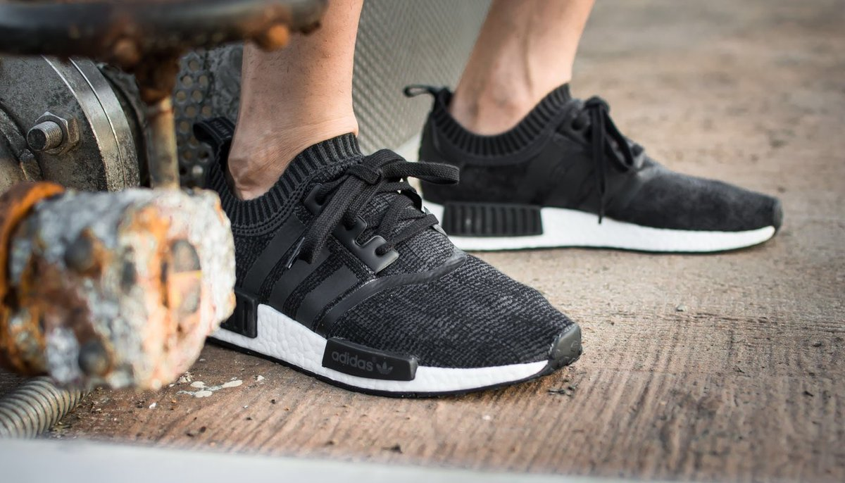 Cheap Adidas NMD R2 Primeknit Ba7252 Core Black Core Red Bred