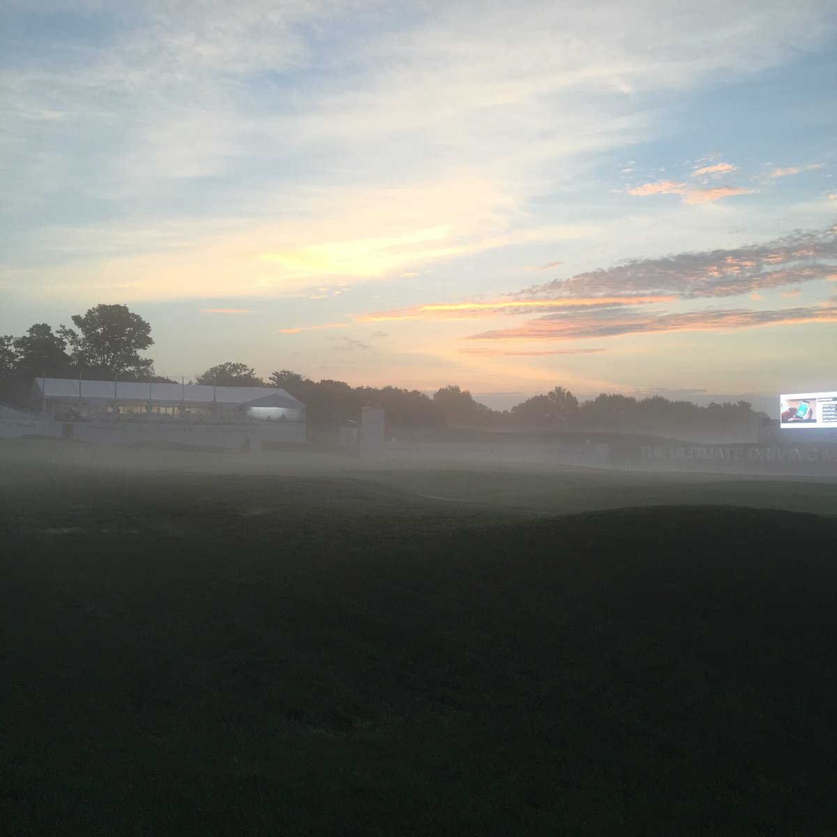Sunrise at Crooked Stick. #BMWChamps https://t.co/Xd1USvSmdB