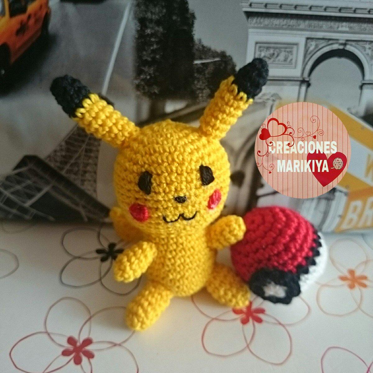 Modèle au crochet de Pikachu de «Pokemon» | 1200x1200