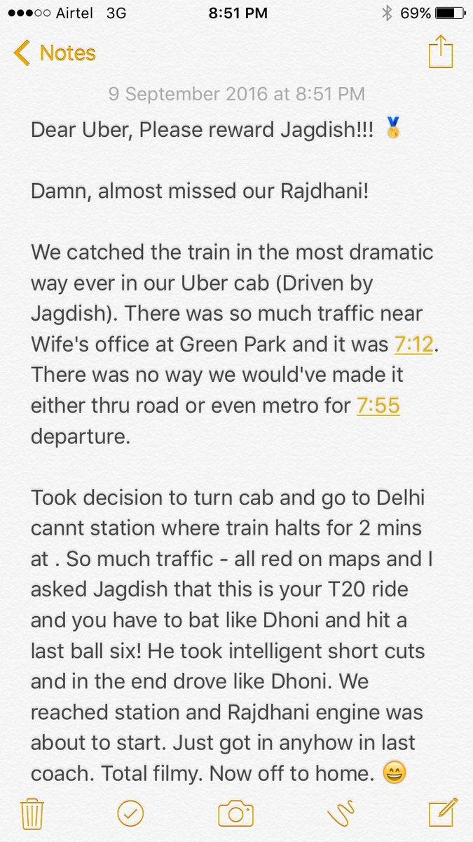 Uber India в Twitter: