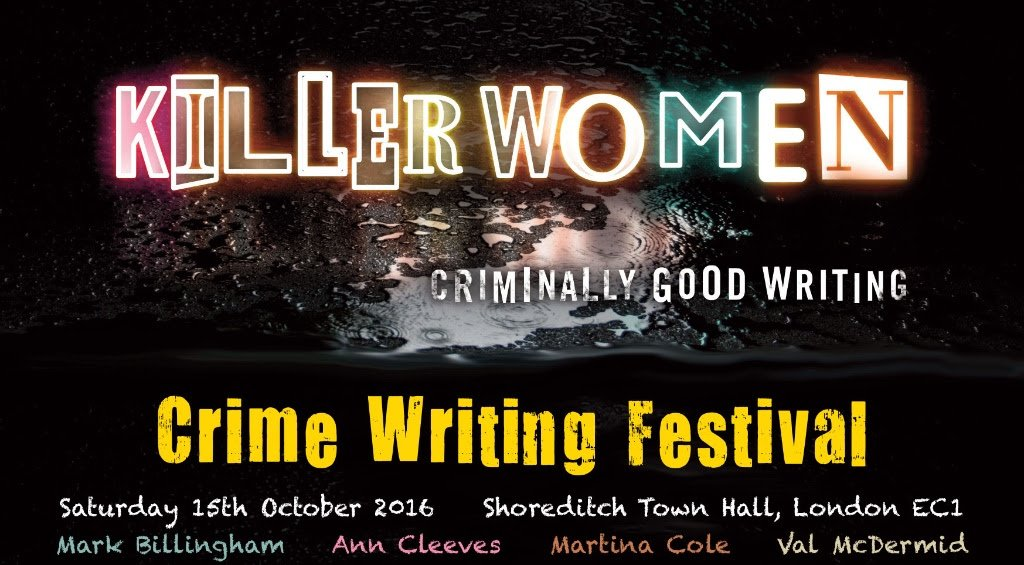 Image result for killer women crime writing festival