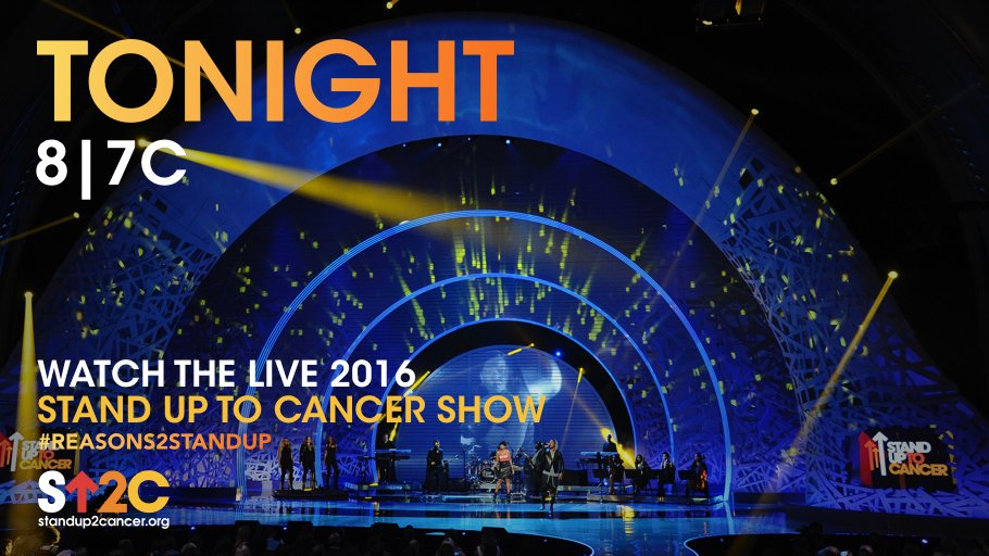 IT'S SHOW DAY! Watch the #SU2C show tonight and join the fight to end cancer as we know it: https://t.co/SqCHyBWrJW https://t.co/BB3dHyqlnT