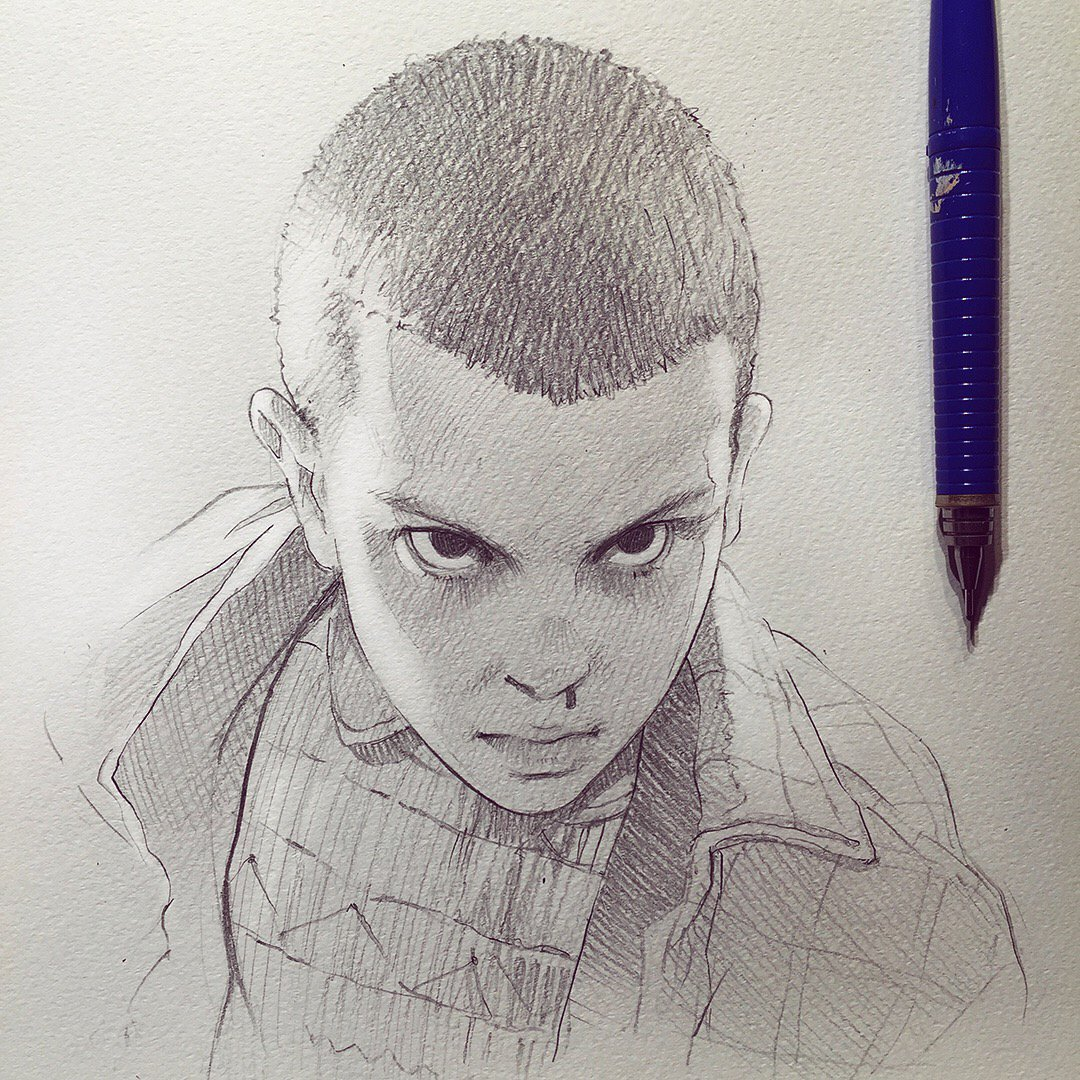 "イリヤ On Twitter: ""Stranger Things's Eleven! (from"