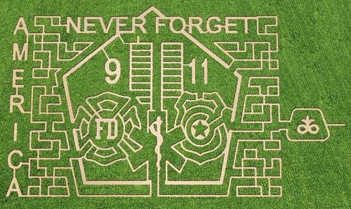 A Lockport couple did not want Sept. 11, 2001 to be forgotten, so they created a corn maze https://t.co/s9HCV2UhUG https://t.co/hubPeIeRKJ