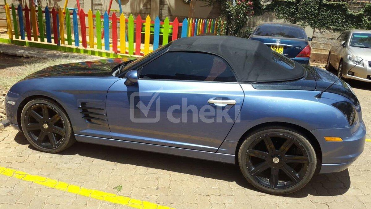 Cheki kenya on twitter 2004 locally used chrysler crossfire petrol for sale ksh1500000 httpst cotogupakcyl httpst cokpyro6o0kz