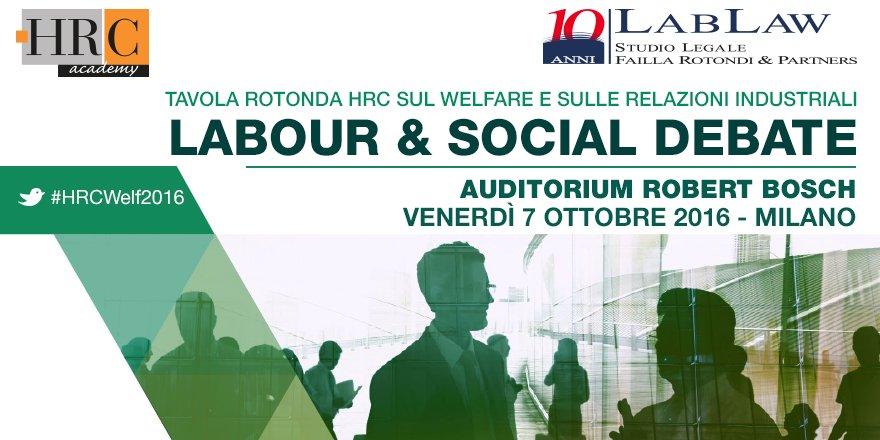 #HRCWelf2016 Tavola Rotonda #welfare #relazioniindustriali iscriviti https://t.co/DPM6b2JxxL  #jointhecommittee https://t.co/hCj9AoM1s6