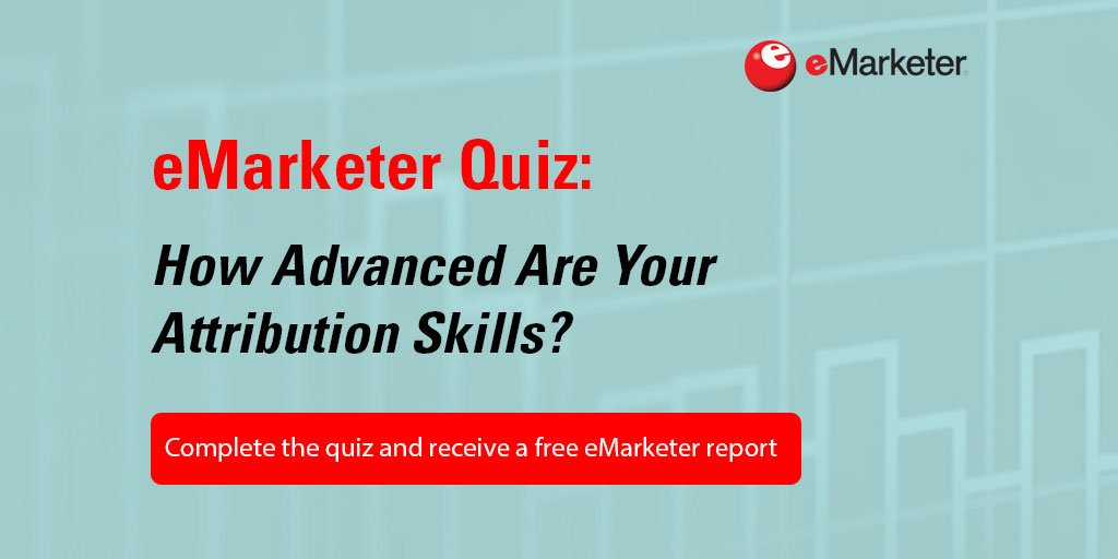 Think you're an expert in cross-platform #attribution? Take our new #eMquiz to find out: https://t.co/sS1ZEG5MBp https://t.co/1NAE1rvWMl