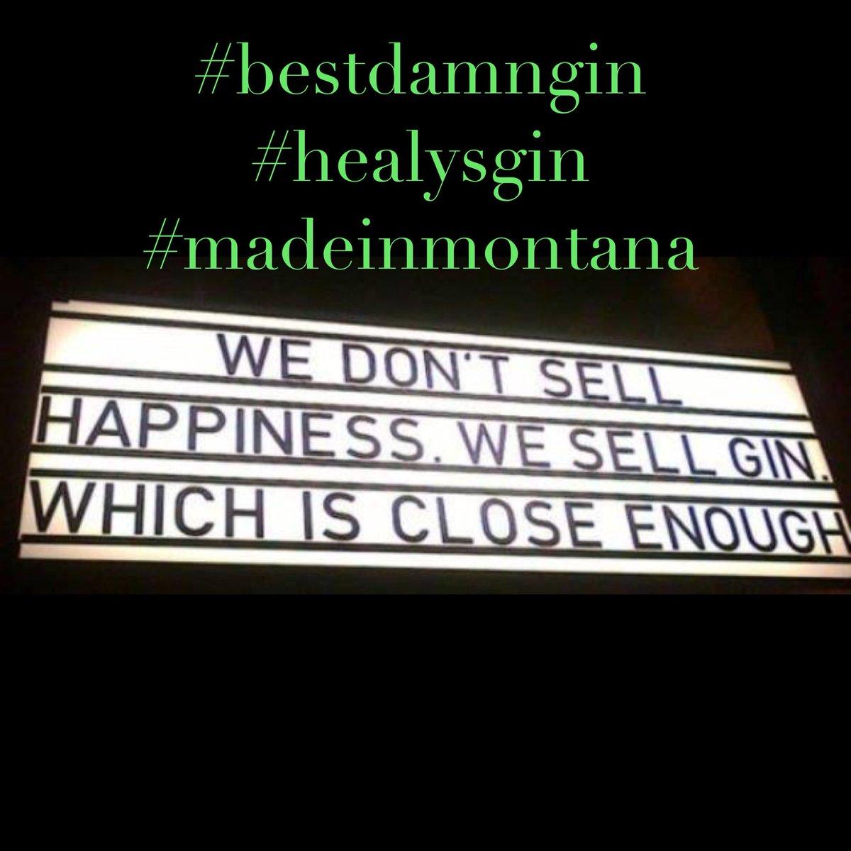 t.g.i.f. #bestdamngin #healysgin #madeinmontanapic.twitter.com/M915C1Fso8