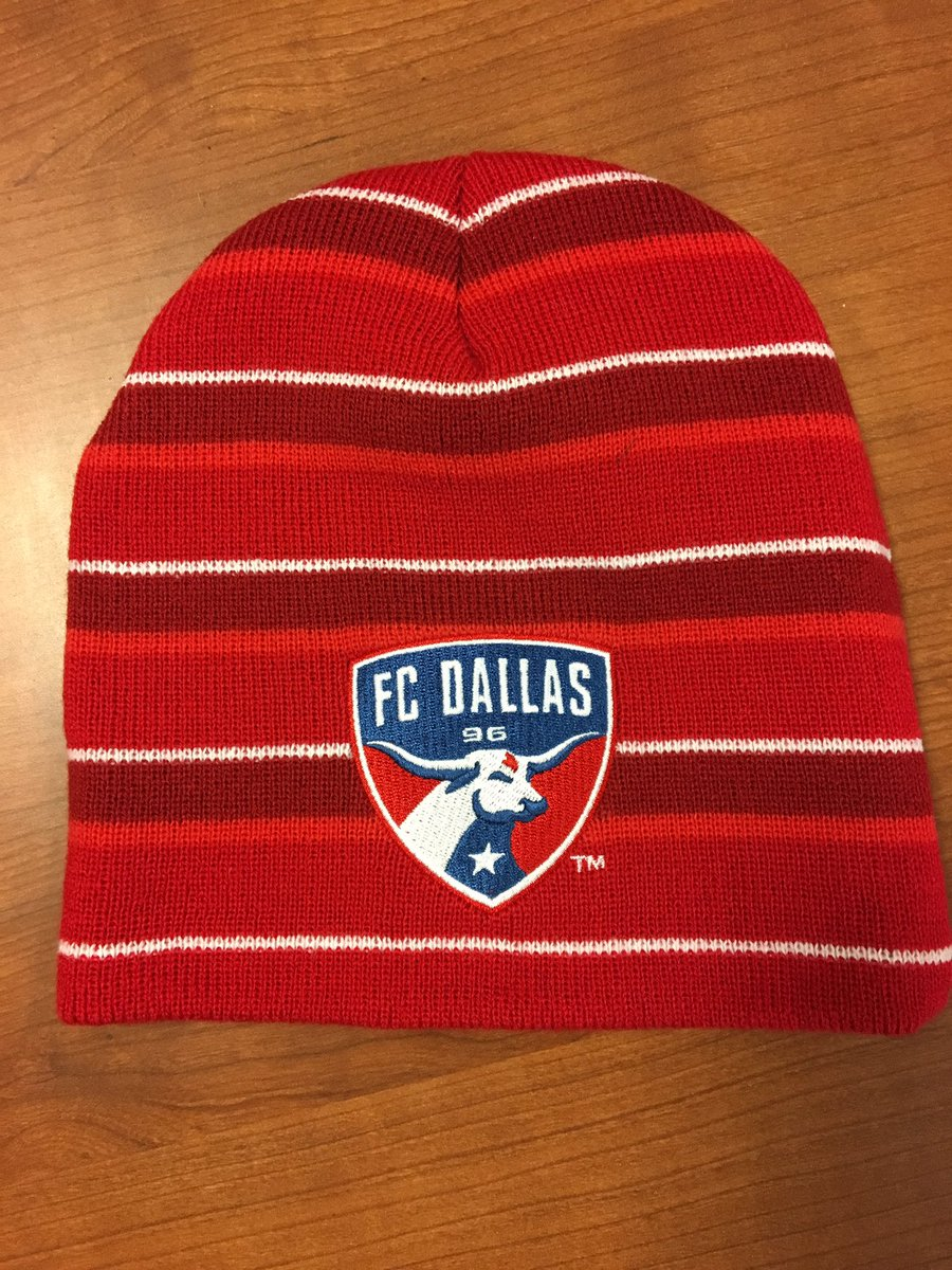 best authentic f7c2f 07e13 reduced sale fc dallas mls soccer thermal beanie hat bnwt one size 6e838  31742 e0034 88481  france fc dallas on twitter thanks to winstarworld the  first ...