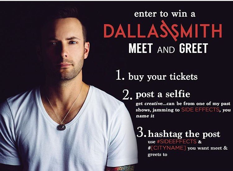 Dallas smith on twitter want a meet and greet 1036 am 9 sep 2016 m4hsunfo
