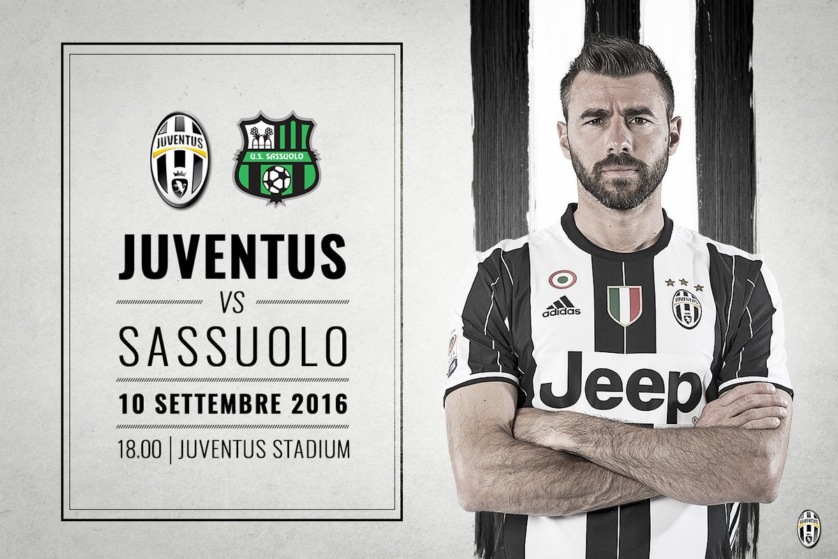 Dove vedere JUVENTUS SASSUOLO Streaming