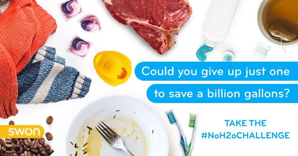 Image result for #NoH2OChallenge