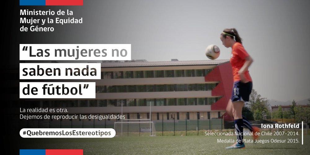 Segegob On Twitter Frase Las Mujeres No Saben De Fútbol Es Sólo