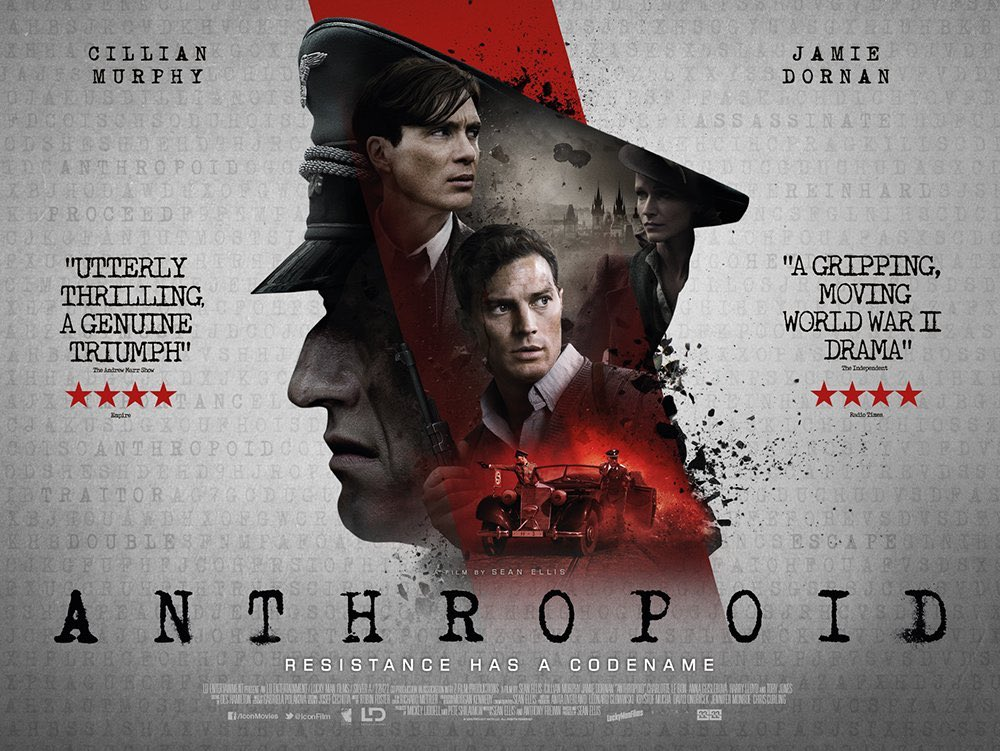 #Anthropoid is now out & is one of the most harrowing & sobering films I've seen.  Review: https://t.co/y07QMxWywT https://t.co/tuuDyVpZyx