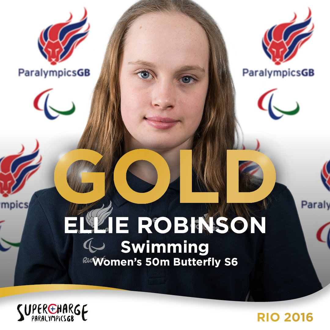 #GOLD for 15 YEAR OLD Ellie Robinson!   Wow, what an amazing achievement for the Northampton swimmer. https://t.co/5bBkZFXR9z