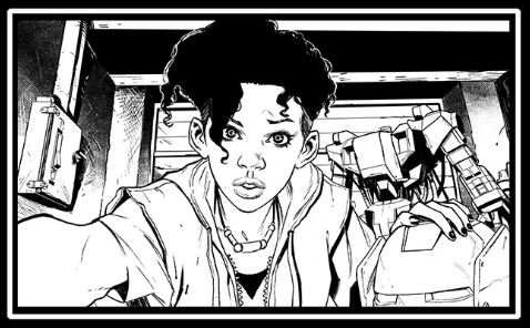 Because I love her and the book so much, here's a sneak peek at Stefano Caselli's Riri Williams! #InvincibleIronMan https://t.co/LxabWP6lo9
