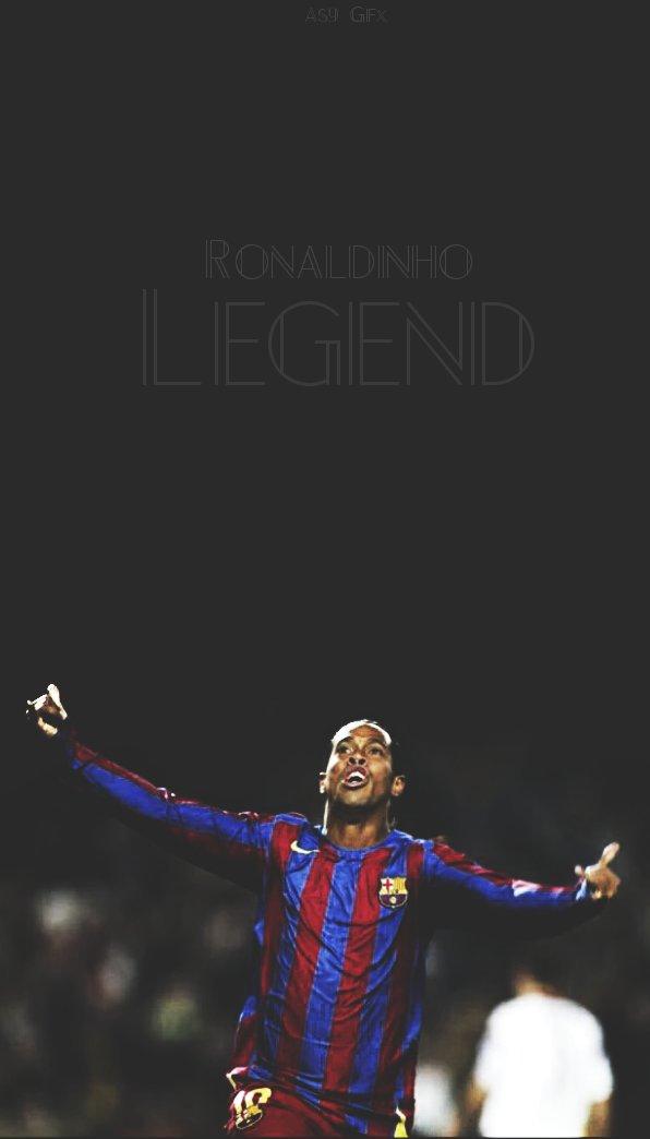 As9gfx On Twitter Ronaldinho Legend Ronaldinho Fcbarcelona