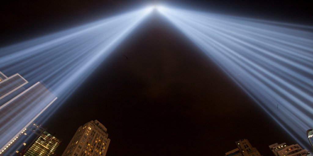 #NYC Join us Sunday at 3pm on the #911Memorial for a special viewing of #TributeInLight. https://t.co/doZYai8R7v