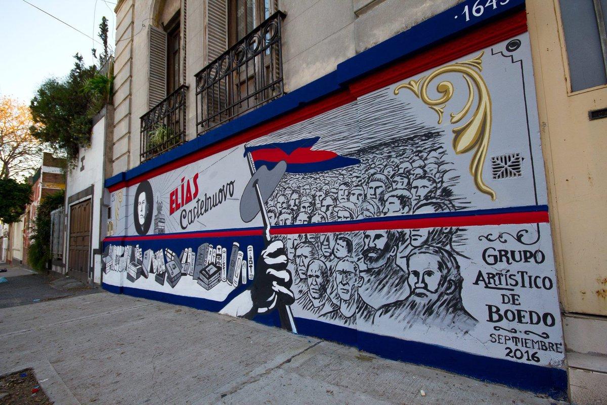 Artistico Boedo On Twitter Mural Nº 92 Homenaje A Elias