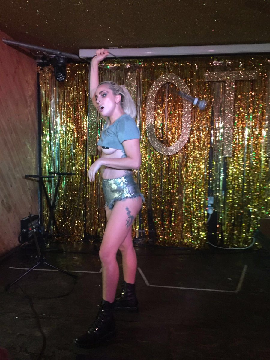 So, @ladygaga just played at the @Moth_Club and it was insane. https://t.co/72swLBGcmT