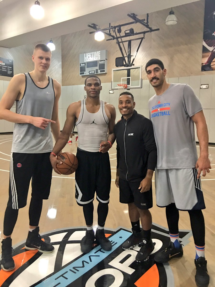enes kanter on twitter   u0026quot good work with my boys today